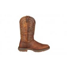 "Durango - Men's - DB4343 Rebel 11"" Steel Toe Western - Brown"