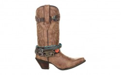 "Durango DCRD145 - Women's - Crush - 12"" Accessorized Soft Toe - Brown"