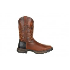 Durango - Men's - DDB0175 Maverick XP Steel Toe Ventilated Pull-On Work Boot - Tobacco