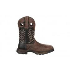 Durango - Men's - DDB0176 Maverick XP Steel Toe Waterproof Western - Chocolate Safari Elephant/Black