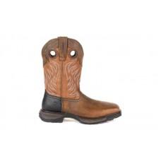 Durango - Men's - DDB0215 Maverick XP Steel Toe Waterproof Western - Rugged Brown/Copper