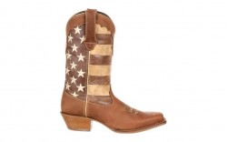 Durango - Women's - DRD0131 Crush Distressed Flag Boot