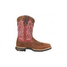 Durango - Women's - DRD0220 Rebel Waterproof Composite Toe Western - Briar Brown/Rusty Red