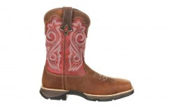 Durango - Women's - DRD0220 Rebel Waterproof Composite Toe Western - Briar Brown/Rusty Red