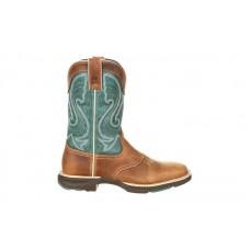 Durango - Women's - DRD0224 Ultra-Lite Saddle Western - Emerald/Tan