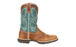 Durango - Women's - DRD0224 Ultra-Lite Saddle Western - Emerald/Tan