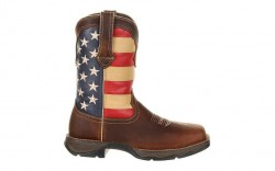 Durango - Women's - DRD0234 Rebel Steel Toe Patriotic Flag Boot