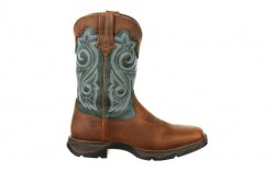 Durango - Women's - DRD0312 Rebel Waterproof Western Boot - Brown/Evergreen