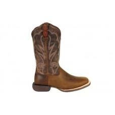 "Durango DRD0376 - Women's - Lady Rebel Pro - 12"" Soft Square Toe - Distressed Cognac"