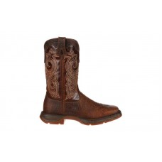 Durango - Women's - RD3315 Rebel Steel Toe Western - Sunset Brown