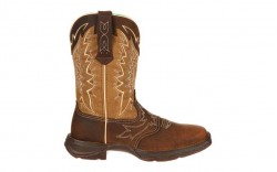 Durango - Women's - RD4424 Rebel Let Love Fly Western - Nicotine/Brown
