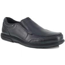 Florsheim FE2020 - Men's - Loedin - Slip-On - Steel Toe - Black
