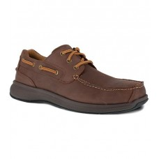 Florsheim FS2326 - Men's - Bayside - Steel Toe - Brown
