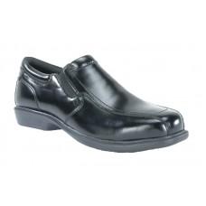 Florsheim FS2005 - Men's - Coronis Slip On Oxford Steel Toe - Black