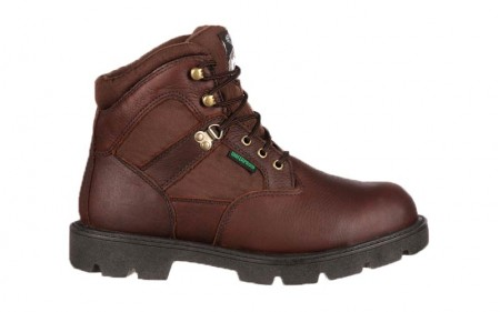 Georgia Boot G105 - Men's - Homeland Steel Toe Waterproof Work Boot - Brown