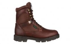Georgia Boot G107 - Men's - Homeland Steel Toe Waterproof Work Boot - Brown