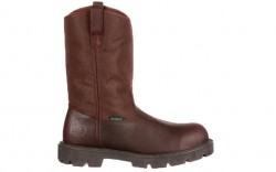 Georgia Boot G111 - Men's - Homeland Steel Toe Waterproof Wellington - Brown