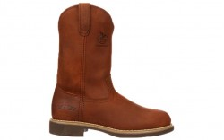 Georgia Boot G5814 - Men's - Carbo-Tec Farm and Ranch Pull-On Boot - Prairie Chestnut