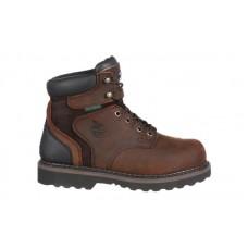 Georgia Boot G7334 - Men's - Brookville Steel Toe Waterproof Work Boot - Dark Brown