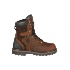 Georgia Boot G9334 - Men's - Brookville Steel Toe Waterproof Work Boot - Dark Brown