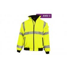 Reflective Hi Visibility Clothing - VEA-421 - Three Season Jacket - Lime/Black