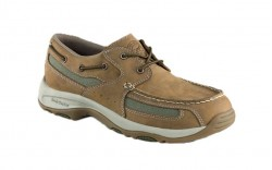 Irish Setter 3819 - Men's - Rugged Casuals Lakeside - Brown Leather/Green Nylon Oxford