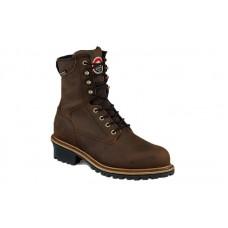Irish Setter 83834 - Men's - Mesabi - Waterproof - 8 inch - Steel Toe Logger Boot