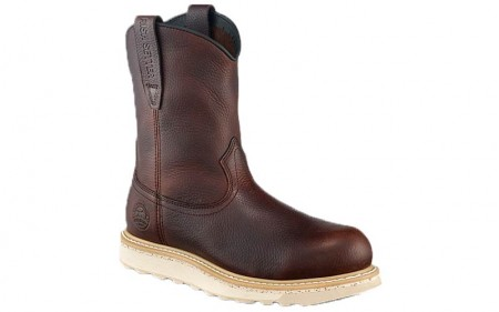 Irish Setter Work 83908 - Men's - Ashby - 9 Inch Brown USA Made Leather Aluminum Toe Pull-On