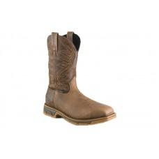 Irish Setter Work 83912 - Men's - Marshall - 11 Inch Brown Leather UltraDry Pull-On Steel Toe