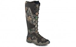"Irish Setter 2848 - Men's - Vaprtrek - 17"" Waterproof Leather Realtree Camo Soft Toe Side-Zip Snake Boot"