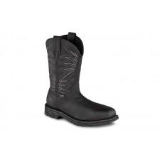 "Irish Setter 83956 - Men's - Marshall - 11"" Waterproof Leather Steel Toe Pull-On Boot"