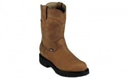 "Justin 6604 - Men's - 10"" Brown Gore Tex Waterproof Soft Toe Wellington"