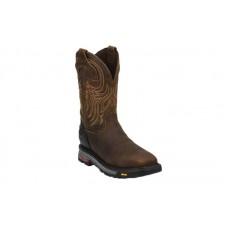 """Justin WK2111 - Men's - 11"""" Waterproof Safety Toe Wellinton"""