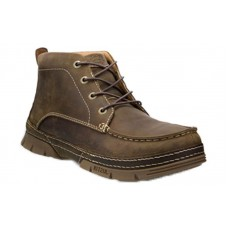 "Justin WK277 - Men's - 4"" Brown 4 Eye Lacer Steel Toe Work Boot"