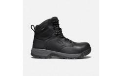 "Keen 1024184 - Men's - 6"" Chicago Waterproof Carbon Fiber Toe - Black Forged Iron"