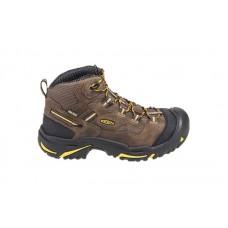KEEN Utility 1011242 - Men's - Braddock Mid Waterproof Steel Toe - Cascade Brown/Tawny Olive