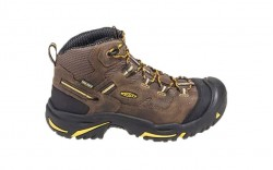 KEEN Utility 1011242 - Men's - Braddock Mid Waterproof Steel Toe - Cascade Brown/Tawny Olive