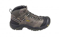 KEEN Utility 1011243 - Men's - Braddock Mid Waterproof Steel Toe - Gargoyle/Forest Night