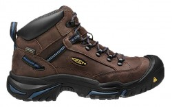 KEEN Utility 1012771 - Men's - Braddock Mid Steel Toe - Bison/Ensign Blue