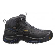 KEEN Utility 1014605 - Men's - Braddock Mid Waterproof Soft Toe - Raven/Estate Blue