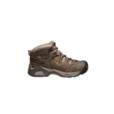 KEEN Utility 1020039 - Men's - Detroit XT Mid Waterproof - Black Olive/Leather Brown