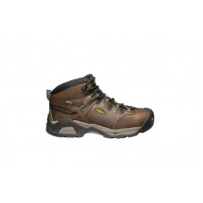 KEEN Utility 1020085 - Men's - Detroit XT Mid Waterproof Steel Toe - Cascade Brown/Bronze Green