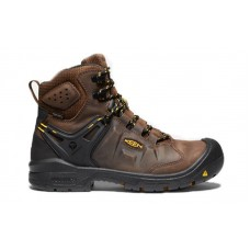 "KEEN Utility 1021467 - Men's - Dover - 6"" Waterproof Carbon-Fiber Toe - Dark Earth/Black"