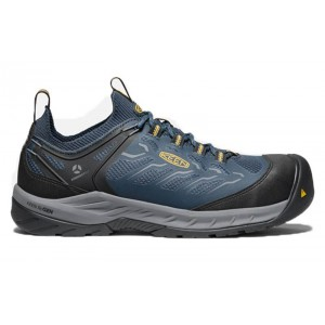 KEEN Utility 1023231 - Men's - Flint II Sport - Carbon-Fiber Toe - Midnight Navy/Steel Grey