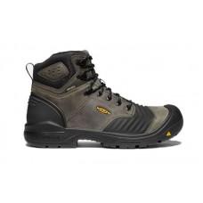 "KEEN Utility 1023387 - Men's - Portland - 6"" Waterproof Carbon-Fiber Toe - Magnet/Black"