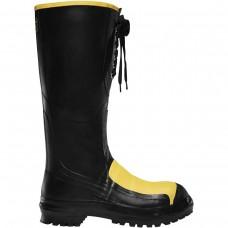 """LaCrosse 00228050 - Men's - 16"""" Meta Pac Steel Toe - Black"""