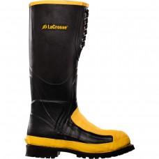 "LaCrosse 00228265 - Men's - 16"" Meta Pac Alloy Toe - Black"