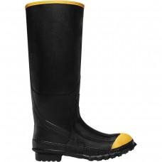 "LaCrosse 00267220 - Men's - 16"" Premium Knee Steel Toe - Black"