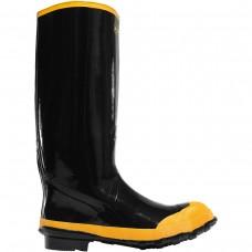 "LaCrosse 24009043 - Men's - 16"" Economy Knee Steel Toe - Black"