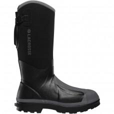 "LaCrosse 248310 - Men's - 14"" Alpha Range Met Guard Composite Toe - Black"